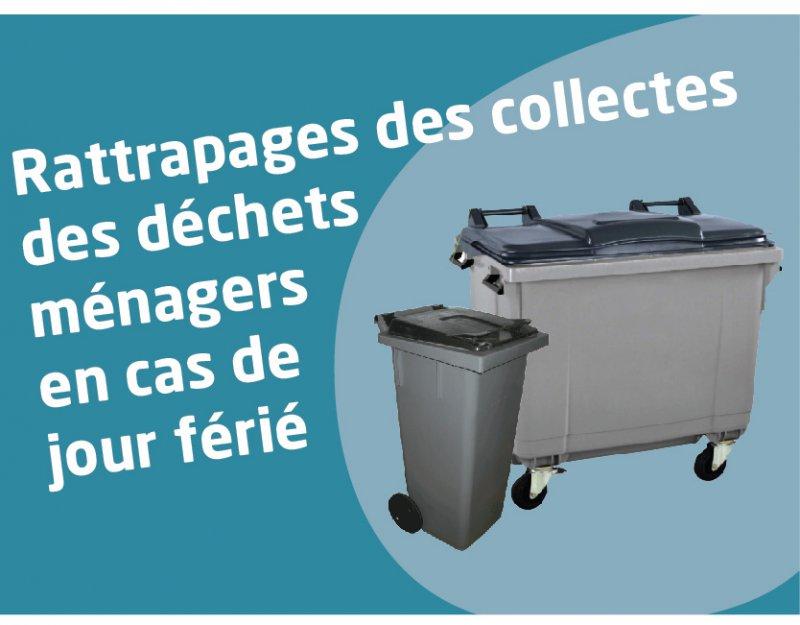Rattrapage des collectes d'ordures ménagères