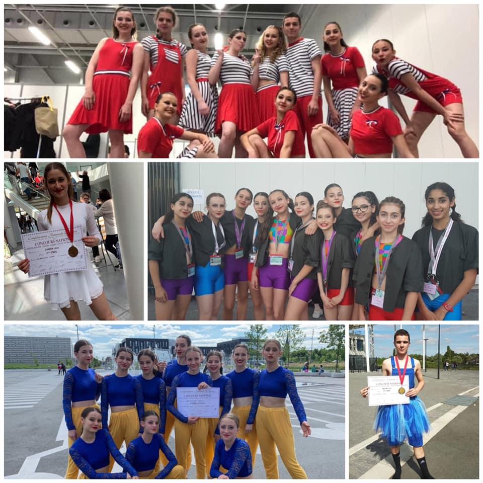 Résultats du concours National de danse à Valenciennes