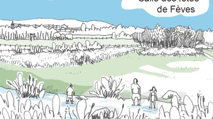"""Présentation publique du """"Parc du Coteau"""" de Fèves"""