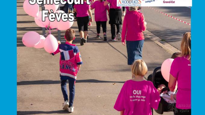 Marche au profit de la ligue contre le cancer