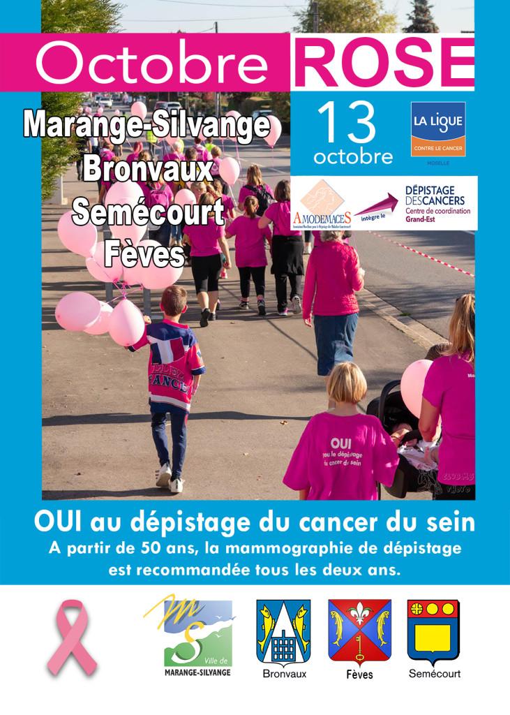 """Marche du dimanche 13 octobre 2019 """"Octobre Rose"""""""
