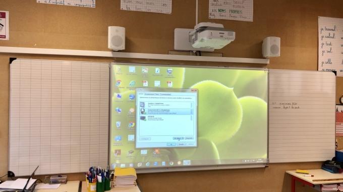 Nouveaux équipements à l'école élémentaire